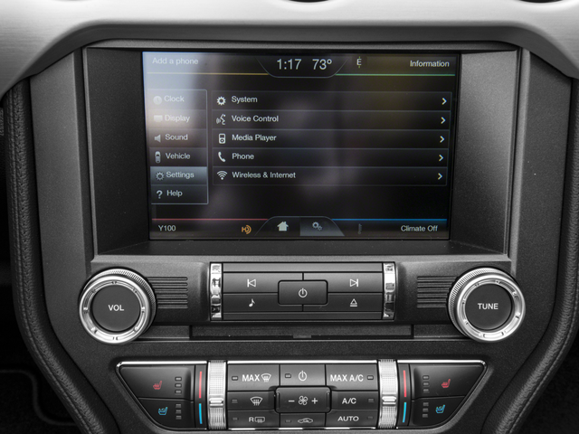 2016 Ford Mustang Stereo