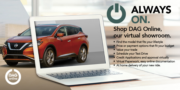 Shop DAG online, our virtual showroom