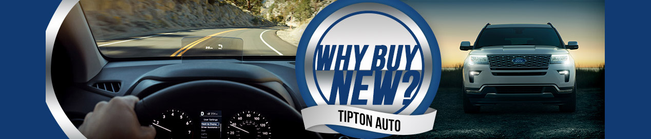 Why Buy New? | Tipton Auto | Brownsville, TX