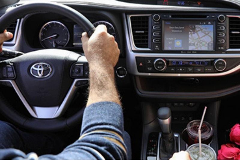 2019 Toyota Highlander Interior | Downtown Toyota | Toronto, ON