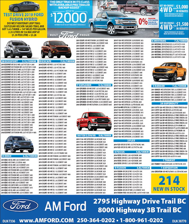 AM Ford Print Ad