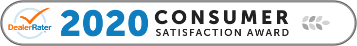 2020 DealerRater Consumer Satisfaction Award Logo