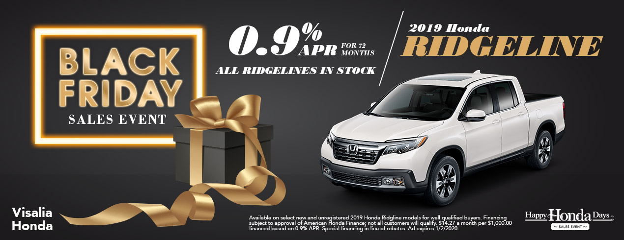 Honda Ridgeline Black Friday Deals