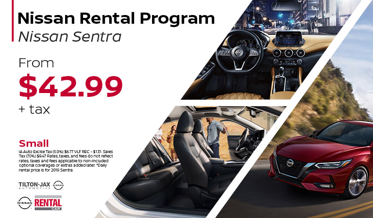 Rent The Nissan Sentra | Quad Cities, IA