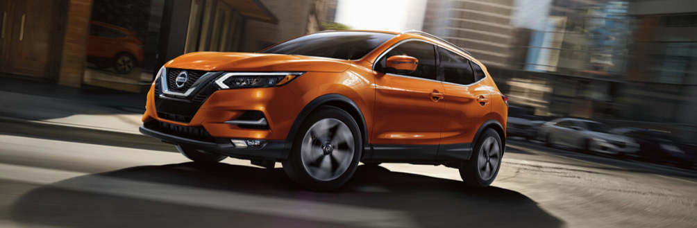Exterior image of the 2020 Nissan Qashqai
