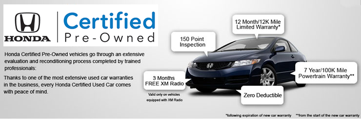 Honda Certified Pre Owned >> Honda Certified Pre Owned Information Honda Of Tiffany Springs
