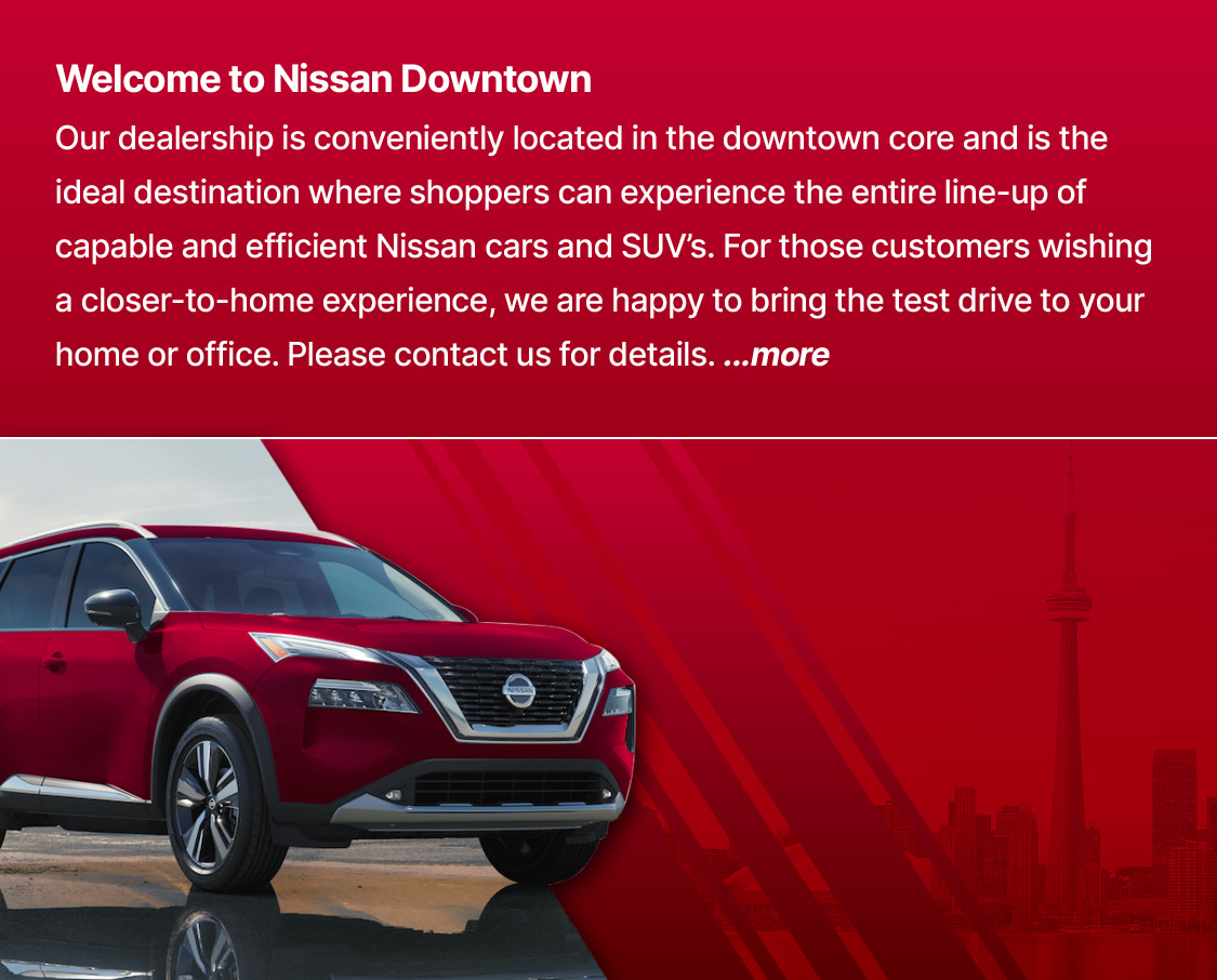 Welcome to Nissan Downtown