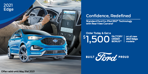 2021 Ford Edge Special Offer