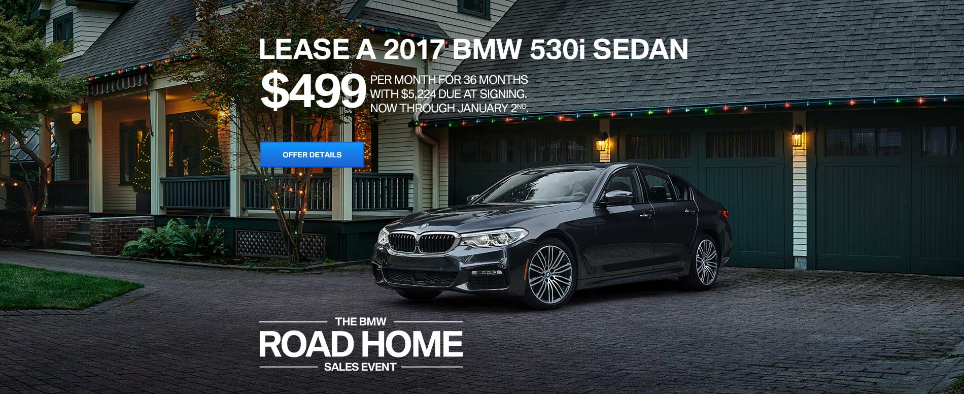 BMW Lease Offer