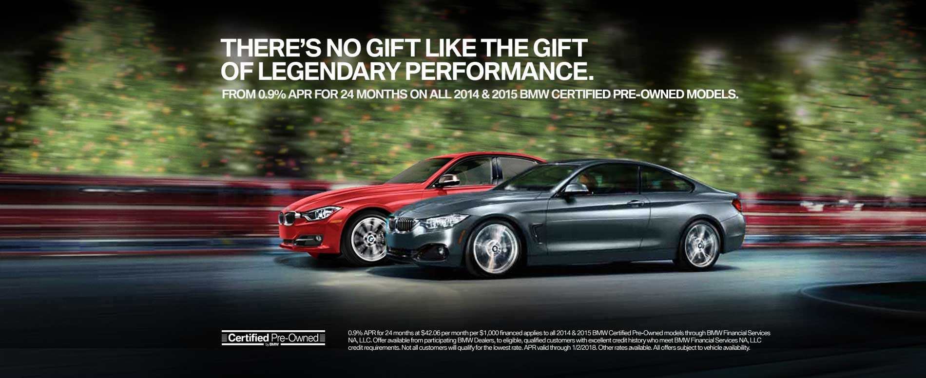 BMW's Latest Certified Pre-Owned Offer