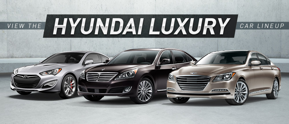 Hyundai Luxury Cars