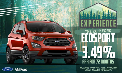 2019 Ford EcoSport | AM Ford | Trail, BC