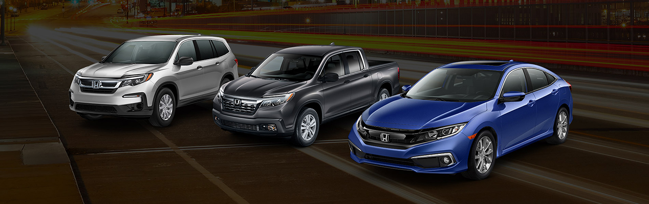 Honda Model Lineup | Newport News, VA