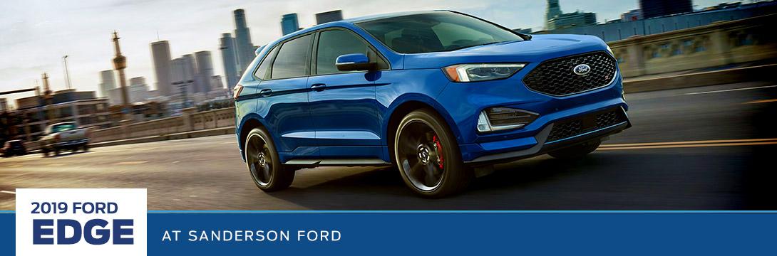 2019 Ford Edge Sanderson Ford Phoenix Az