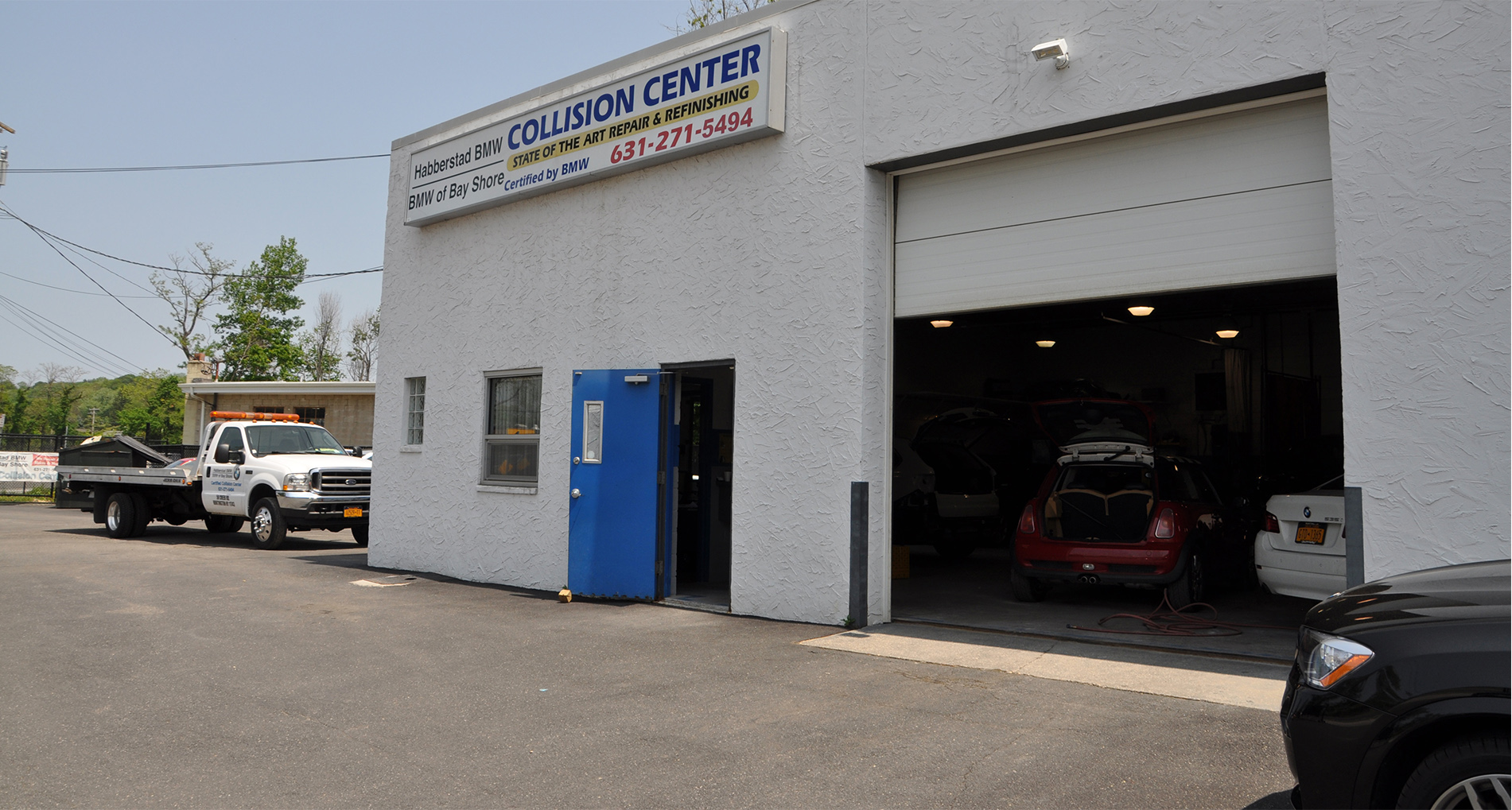Habberstad BMW of Huntingtons Collision Center offers great