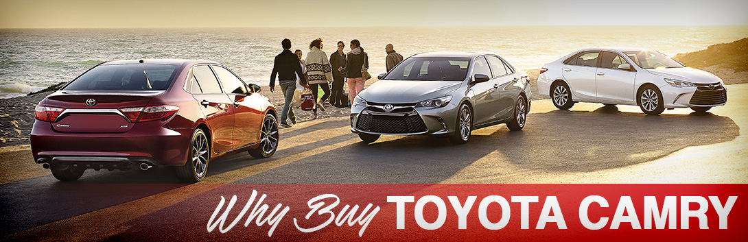 Top Reasons to Buy a Toyota Camry