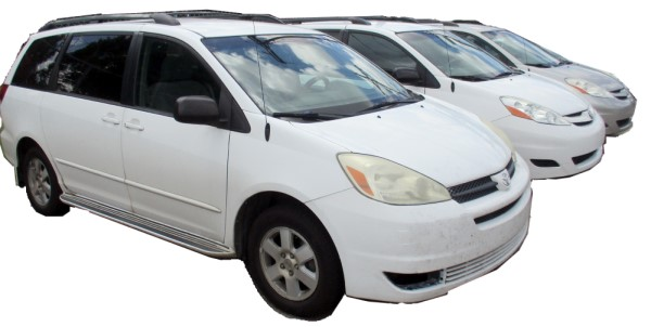 Image of used minivans inventory for sale in Lafayette, Louisiana at Max Auto Sales.