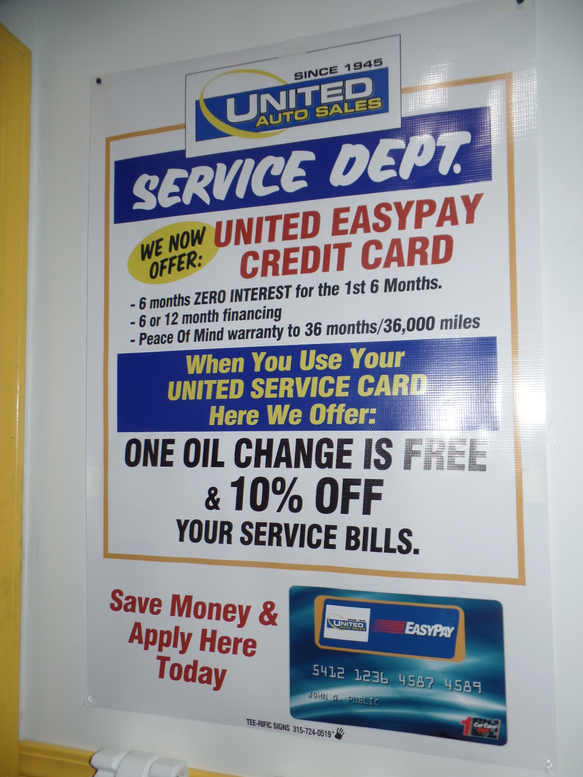 United Used Cars Easy Pay.JPG