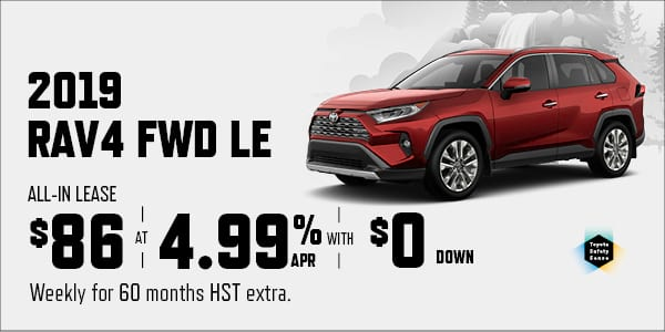 New Vehicle Offers - Downtown Toyota