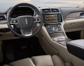 2019 Lincoln Continental Standard Features | Downtown Lincoln | Toronto, ON