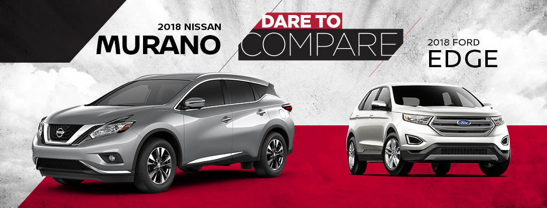 2018 Nissan Murano vs. 2018 Ford Edge | Bates Nissan | Killeen, TX