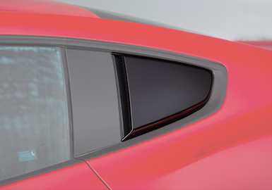 ROUSH Mustang Quarter Window Louvers in Phoenix, AZ