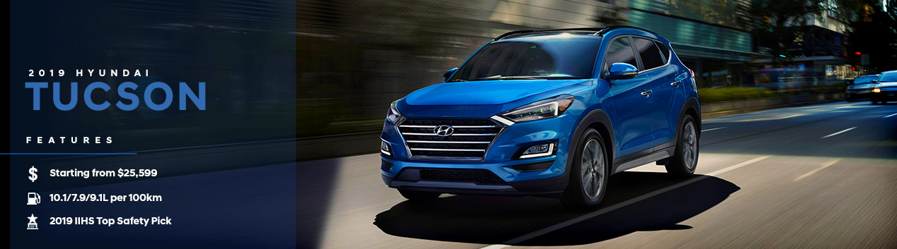 2019 Hyundai Tucson | Downtown Hyundai | Toronto, ON
