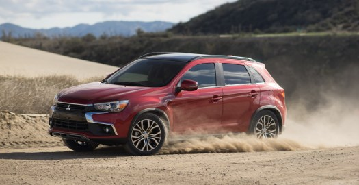 Mitsubishi Outlander Sport features Mitsubishi All-Wheel Drive Control (S-AWC)