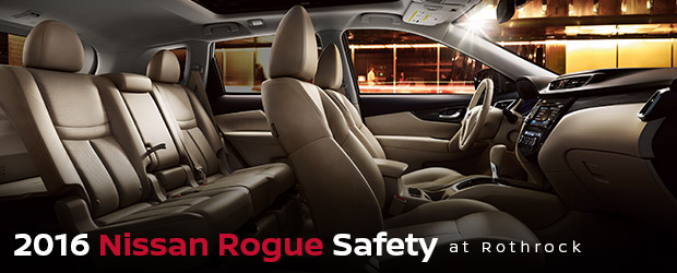 2016 Nissan Rogue Safety Features