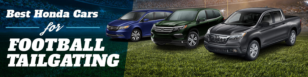Best Honda Cars for Football Tailgating - Vehicles For Sale Springfield MO