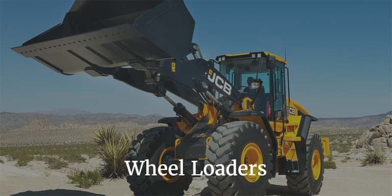 Click to view JCB Wheel Loader range