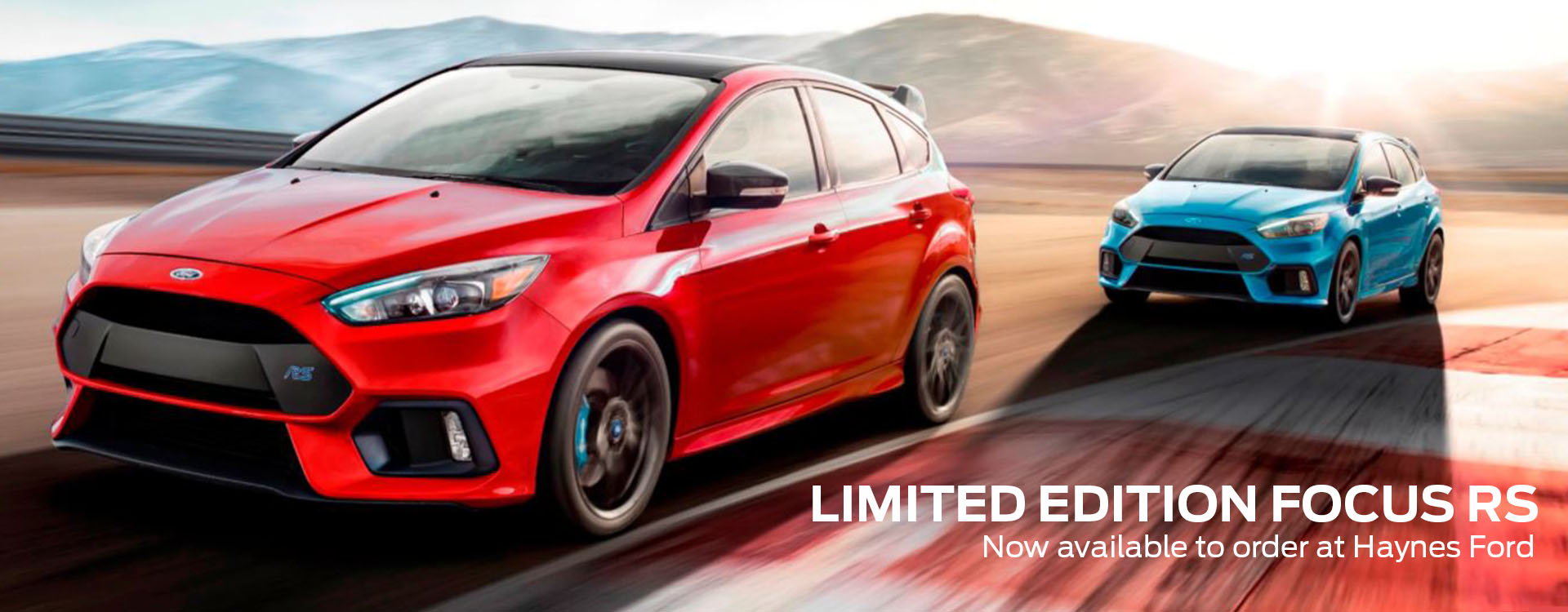 The Limited Edition Focus Rs Now Available To Order At Haynes Ford