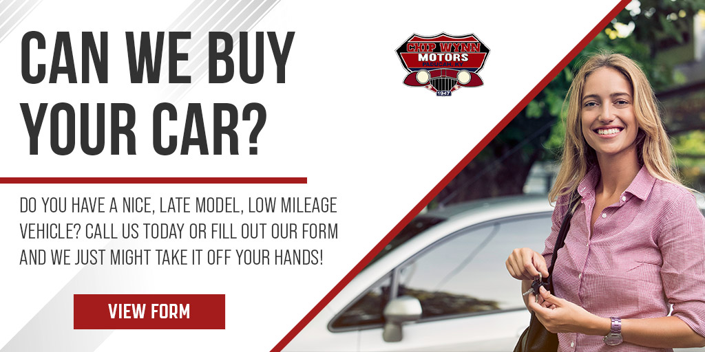 We Buy Cars | Chip Wynn Motors | Paducah, KY