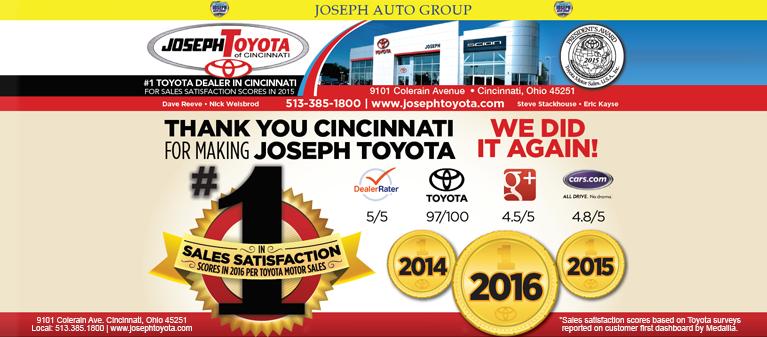 Joseph Auto Group New And Used Cars Parts Service Cincinnati Oh Dayton Northern Kentucky