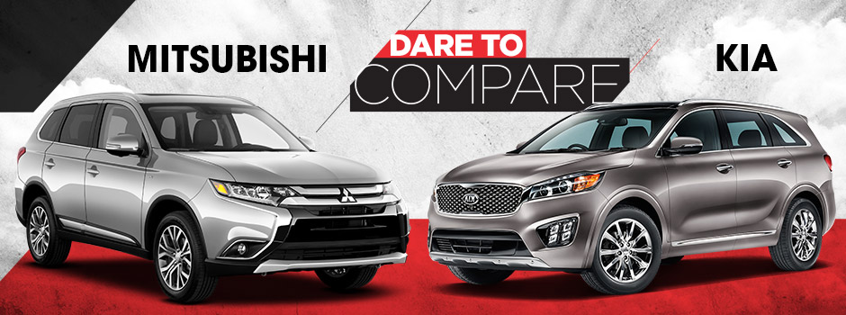 Compare Mitsubishi and Kia
