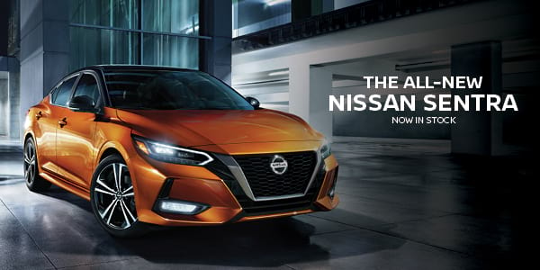Click to Shop the All-New Nissan Sentra - Now in Stock