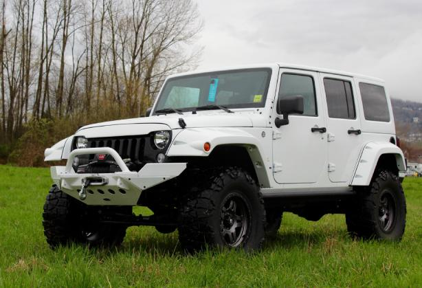 Jeep Wrangler Brutus - Front