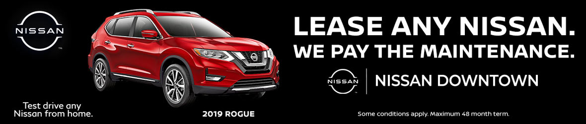 Lease Any Nissan, We Pay the Maintenance