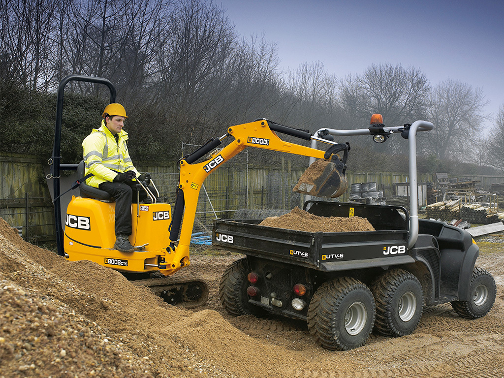 JCB Mini Excavators - Haynes Agritec - JCB Main Dealer in
