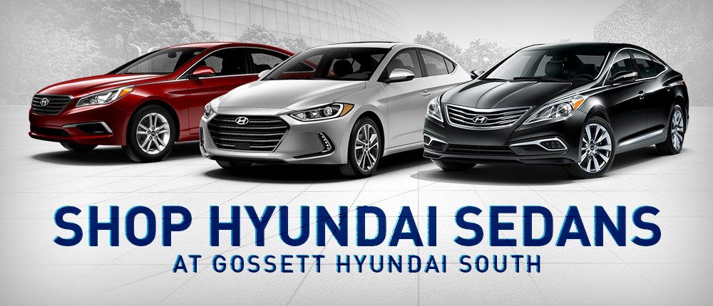 Hyundai Sedan Lineup in Memphis, TN