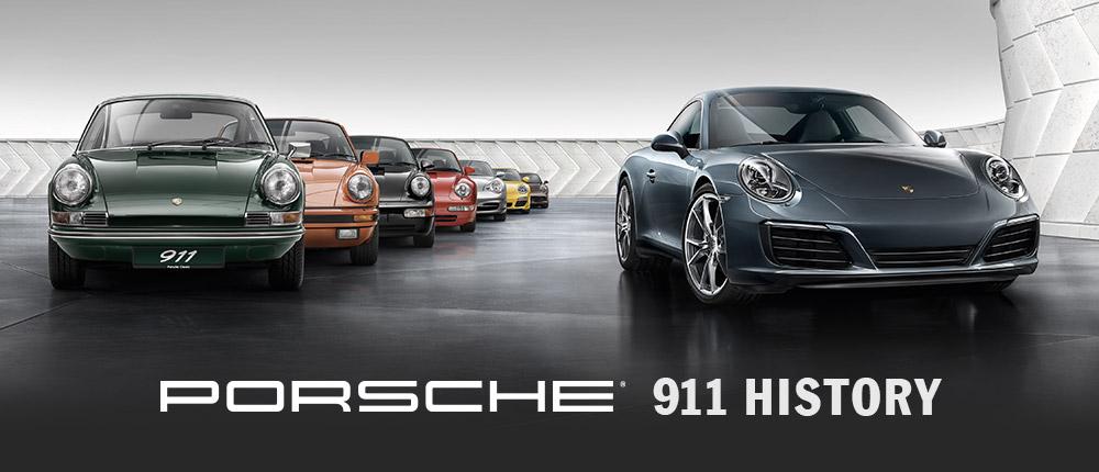 Porsche 911 History | Gossett Volkswagen Porsche in Memphis, TN