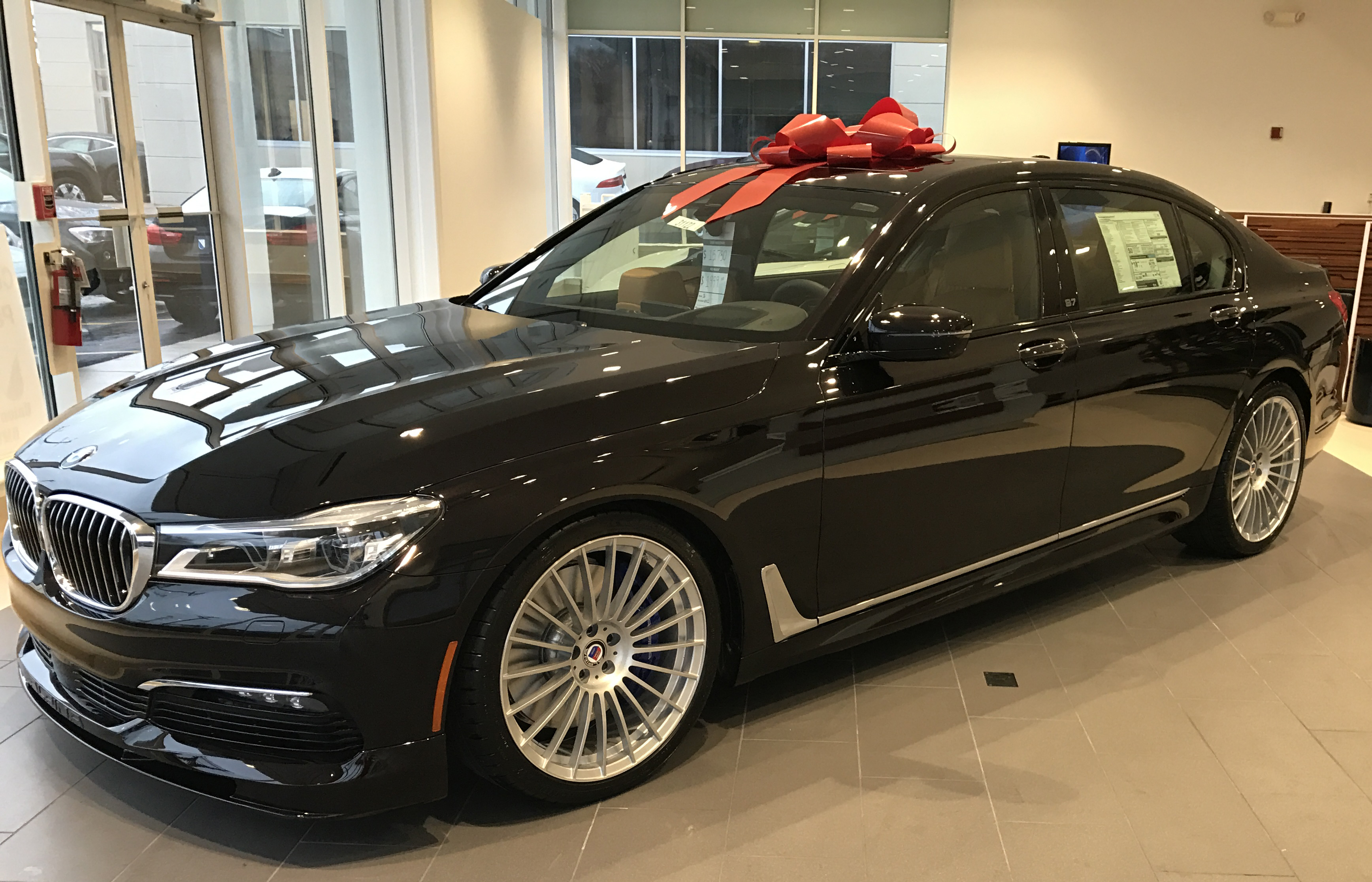 Price 2012 Bmw Alpina B7 Fiat World Test Drive