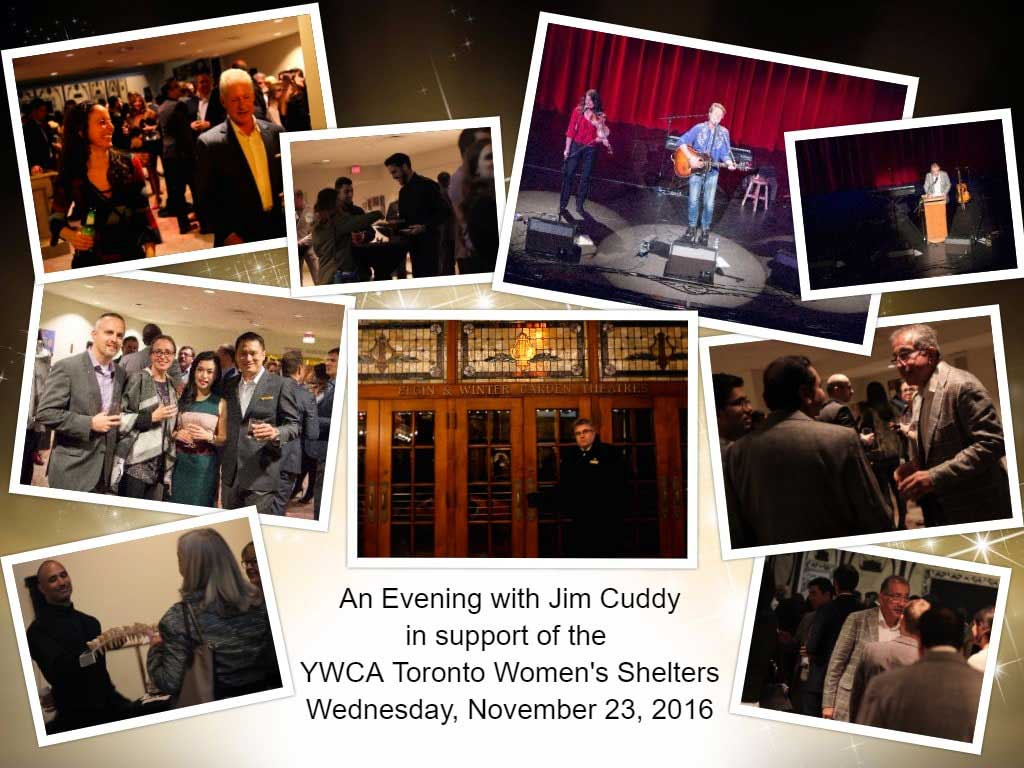 An Evening with Jim Cuddy Event Photos
