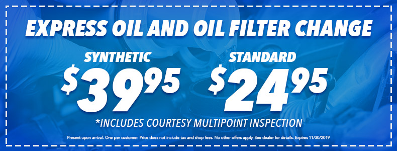 Russell Honda | Express Oil & Filter Change