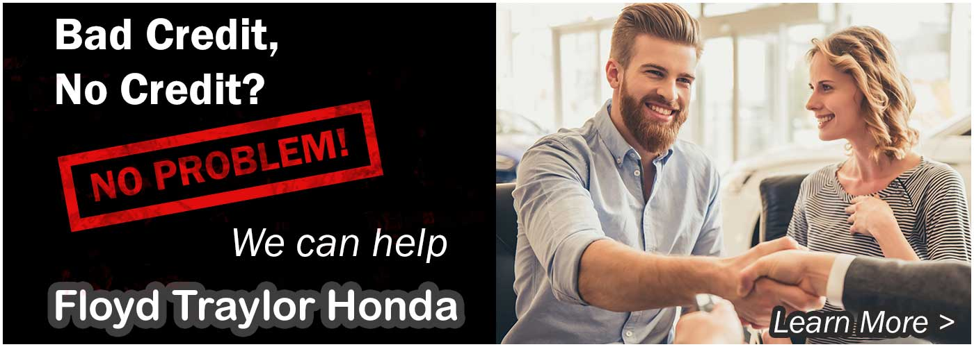 We Can Help | Floyd Traylor Honda