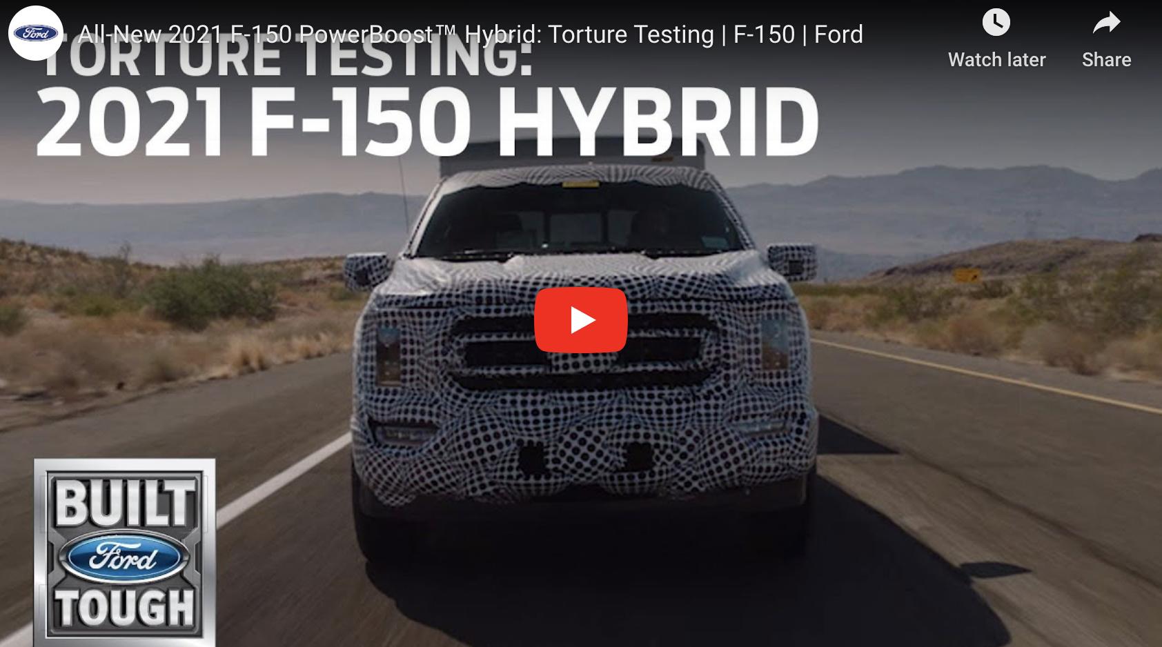 2021 F-150 Hybrid Video