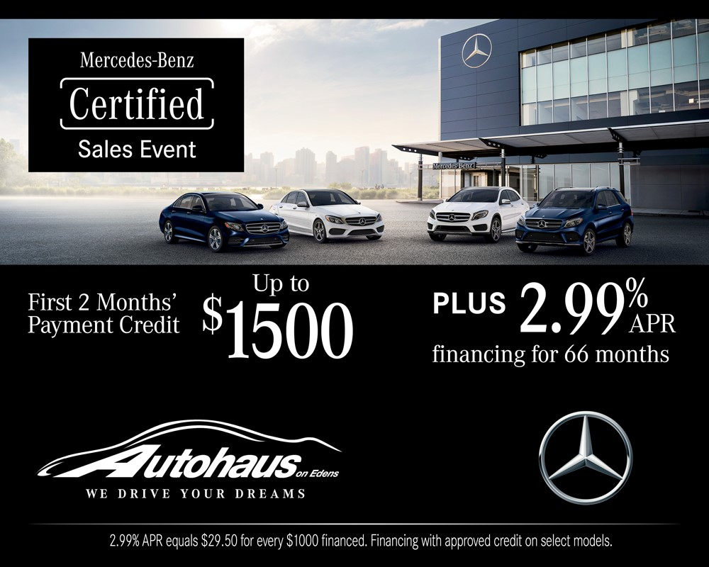 Mercedes-Benz Certified Pre-Owned Sales Event