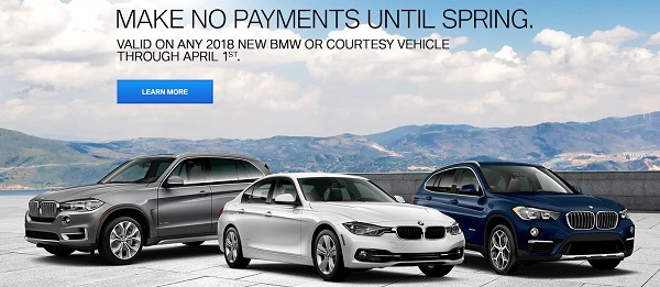 Drive Away In Your Next BMW Today