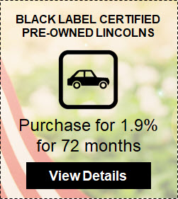 Black Label Certified Pre-Owned Lincolns