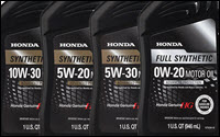 Honda Oil Products